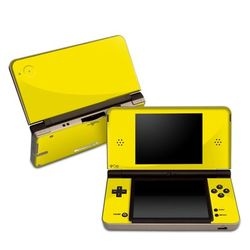 DSi XL Skin - Solid State Yellow
