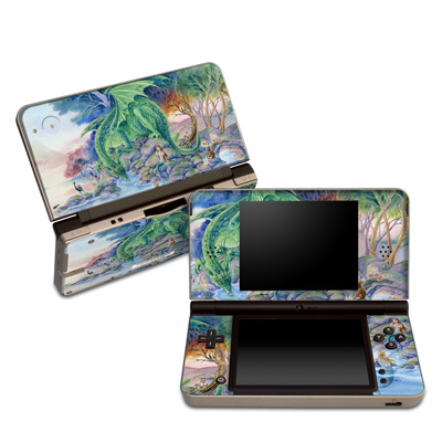 DSi XL Skin - Of Air And Sea