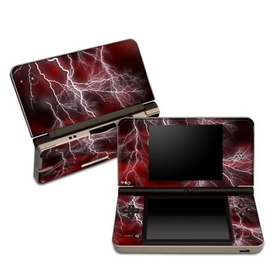 DSi XL Skin - Apocalypse Red