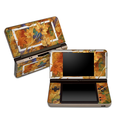 DSi XL Skin - Autumn Days