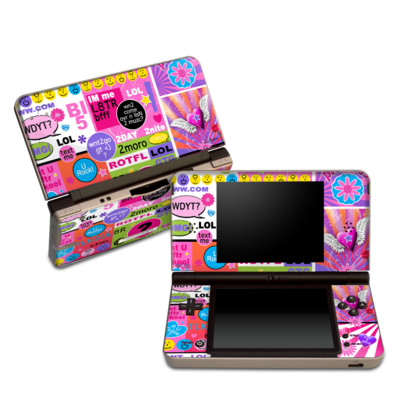 DSi XL Skin - BFF Girl Talk