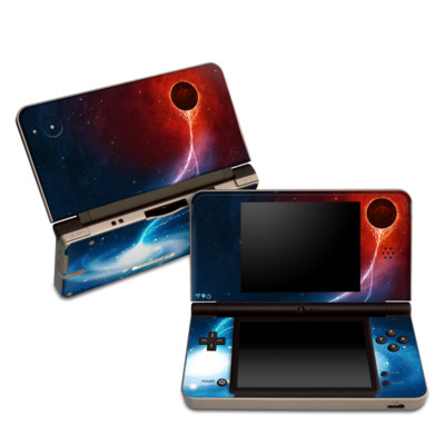 DSi XL Skin - Black Hole