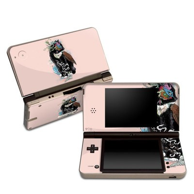 DSi XL Skin - Black Magic