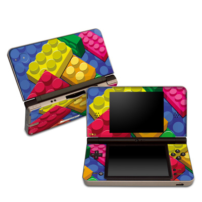DSi XL Skin - Bricks