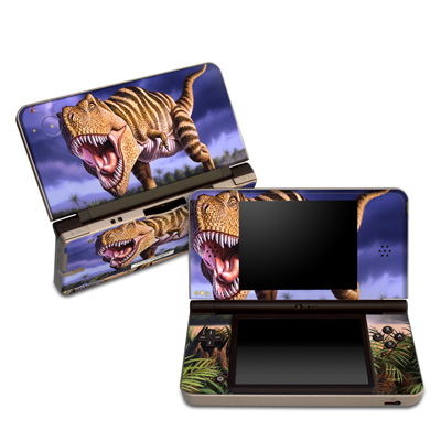 DSi XL Skin - Brown Rex