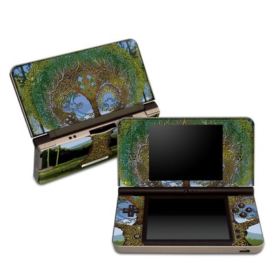 DSi XL Skin - Celtic Tree
