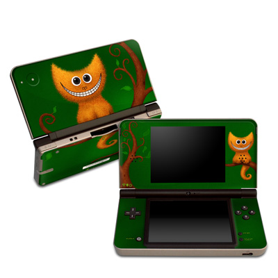 DSi XL Skin - Cheshire Kitten