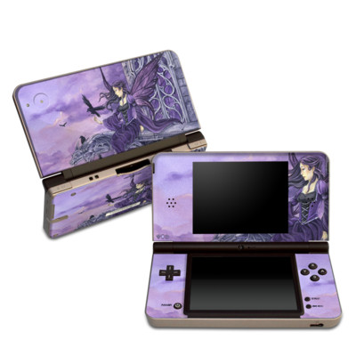 DSi XL Skin - Dark Wings