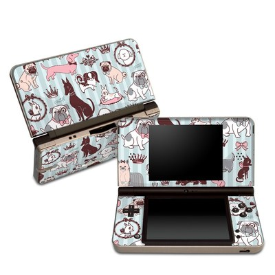 DSi XL Skin - Doggy Boudoir
