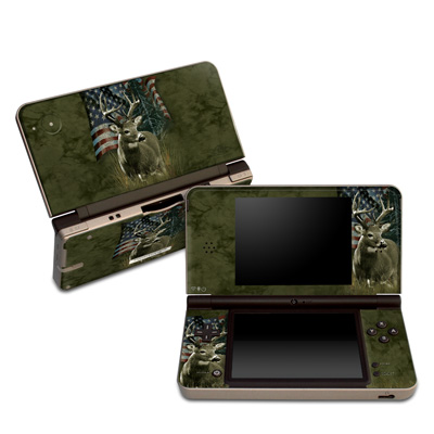 DSi XL Skin - Deer Flag