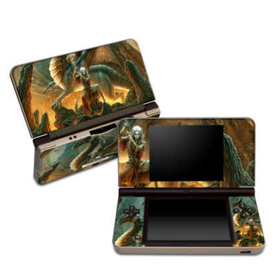 DSi XL Skin - Dragon Mage