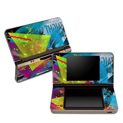 DSi XL Skin - Element-City