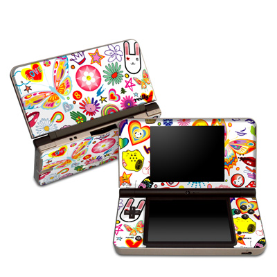 DSi XL Skin - Eye Candy