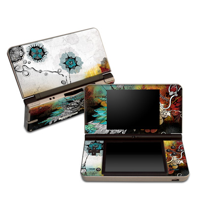 DSi XL Skin - Frozen Dreams