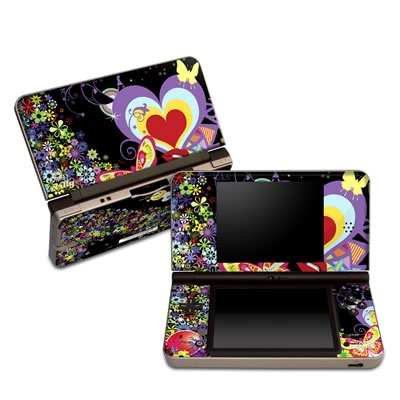DSi XL Skin - Flower Cloud