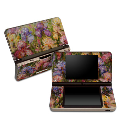 DSi XL Skin - Field Of Irises