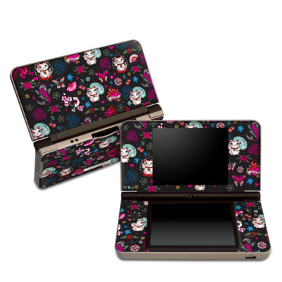 DSi XL Skin - Geisha Kitty