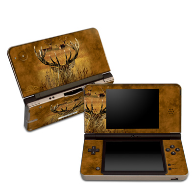 DSi XL Skin - Hiding Buck