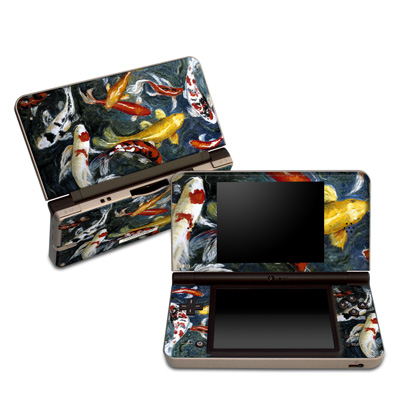 DSi XL Skin - Koi's Happiness