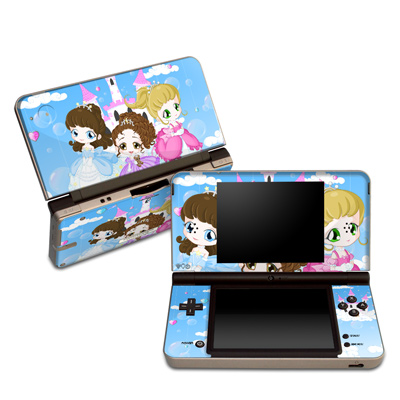 DSi XL Skin - Little Princesses