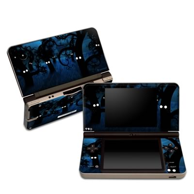 DSi XL Skin - Midnight Forest