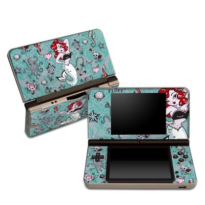 DSi XL Skin - Molly Mermaid