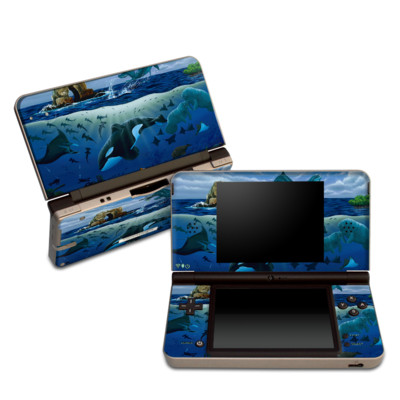 DSi XL Skin - Oceans For Youth