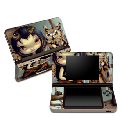 DSi XL Skin - Owlyn