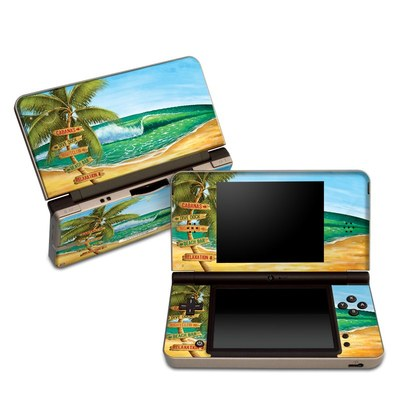 DSi XL Skin - Palm Signs