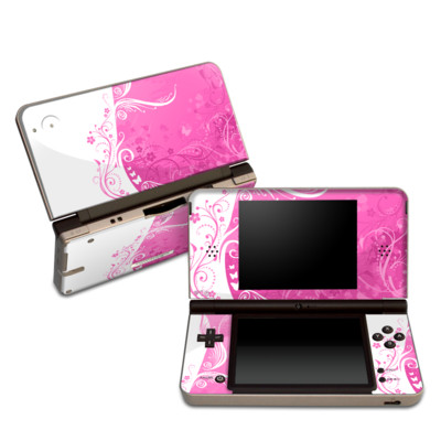 DSi XL Skin - Pink Crush