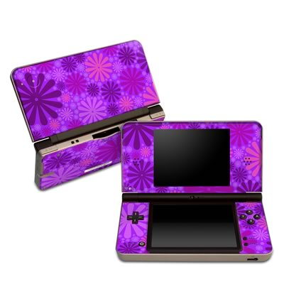 DSi XL Skin - Purple Punch