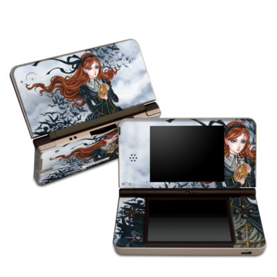 DSi XL Skin - Raven's Treasure