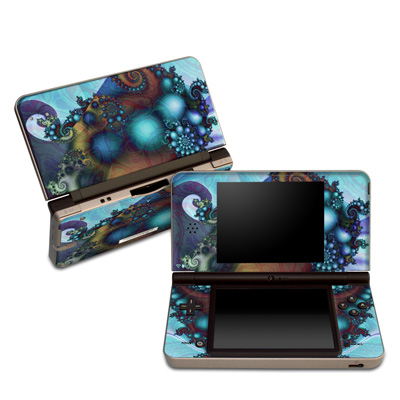 DSi XL Skin - Sea Jewel