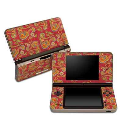 DSi XL Skin - Shades of Fall