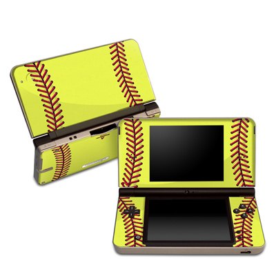 DSi XL Skin - Softball