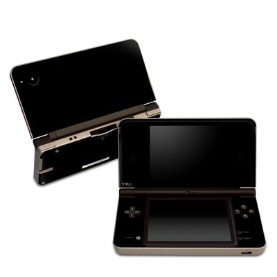 DSi XL Skin - Solid State Black