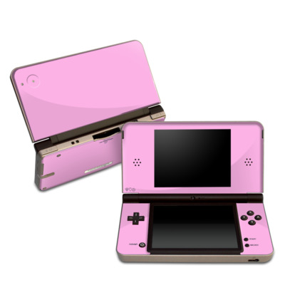 DSi XL Skin - Solid State Pink