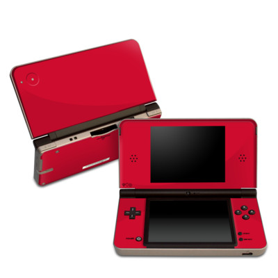 DSi XL Skin - Solid State Red