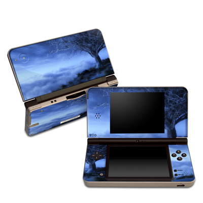 DSi XL Skin - World's Edge Winter