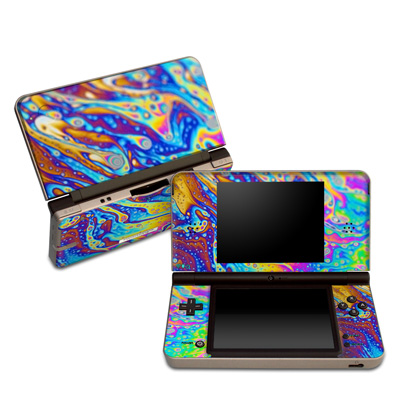 DSi XL Skin - World of Soap