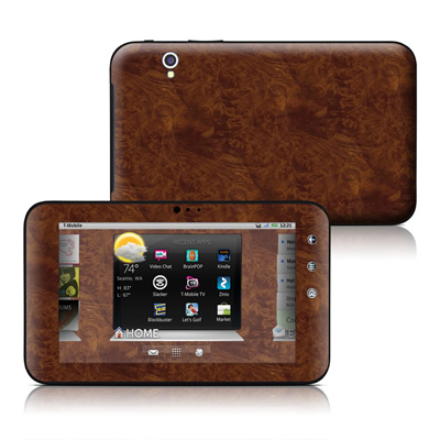 Dell Streak 7in Skin - Dark Burlwood