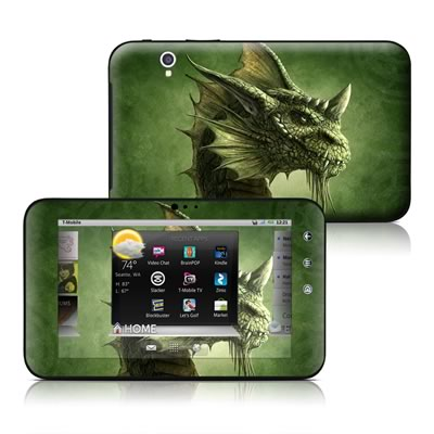 Dell Streak 7in Skin - Green Dragon