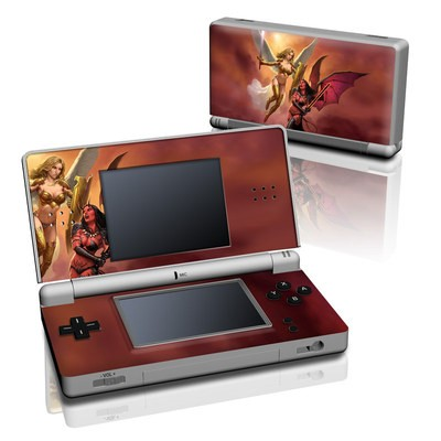 DS Lite Skin - Angel vs Demon