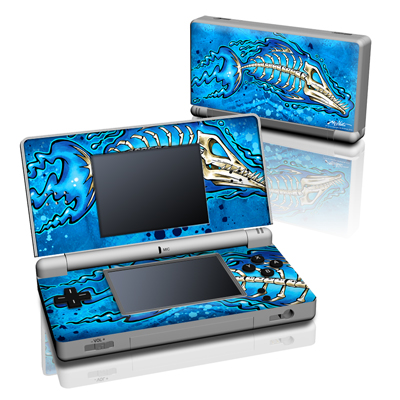 DS Lite Skin - Barracuda Bones