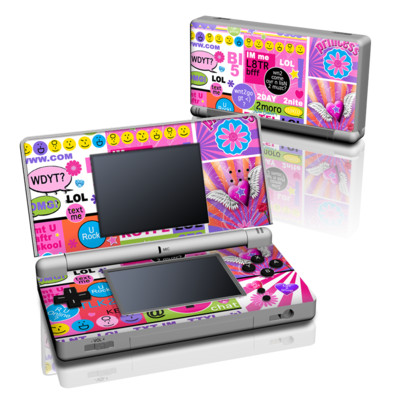 DS Lite Skin - BFF Girl Talk