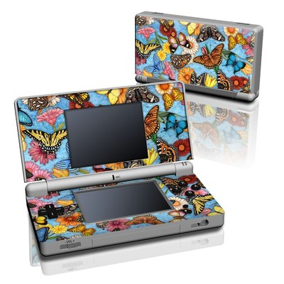 DS Lite Skin - Butterfly Land