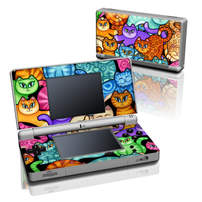 DS Lite Skin - Colorful Kittens