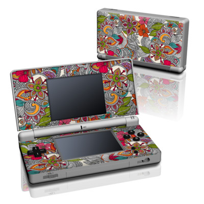 DS Lite Skin - Doodles Color