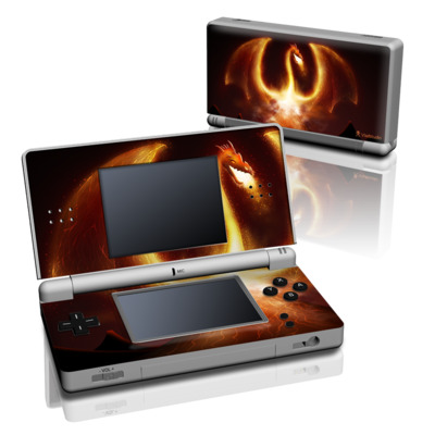 DS Lite Skin - Fire Dragon