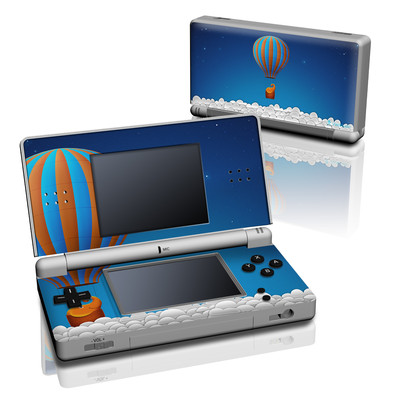 DS Lite Skin - Flying Elephant
